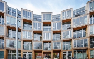 Độc đáo khu nhà nhiều khối ô lập phương chồng chất