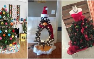 10 cách trang trí sáng tạo cho cây Giáng sinh