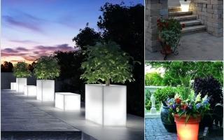 10 ý tưởng chiếu sáng sân vườn cho ngôi nhà của bạn