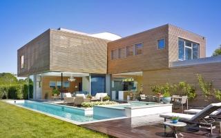 Căn nhà hiện đại thoáng mát cho ngày hè nóng nực