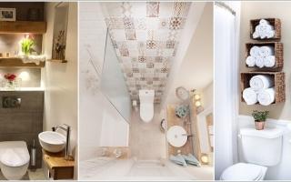 Cách để trang trí cho phòng tắm nhỏ