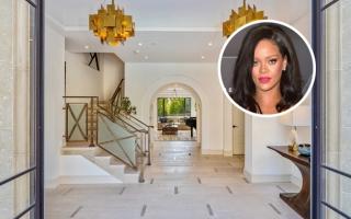 Biệt thự sang trọng cho thuê hơn 800 triệu đồng mỗi tháng của nữ ca sĩ Rihanna