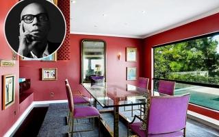 Biệt thự đầy màu sắc 4,9 triệu USD của ngôi sao giải trí RuPaul