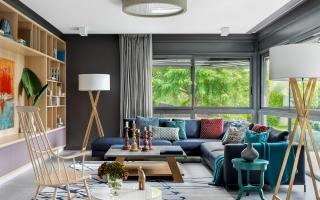Căn nhà hiện đại với những mảng màu sắc tinh tế
