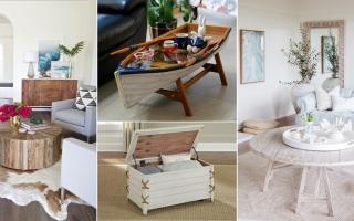 Thiết kế bàn phòng khách lấy cảm hứng từ biển