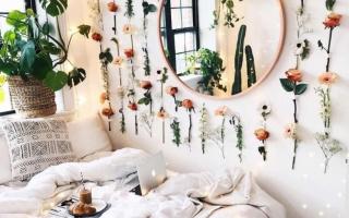 Trang trí nhà bằng hoa lãng mạn mừng ngày Phụ nữ Việt Nam 20/10