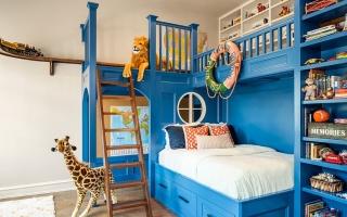 Ý tưởng sáng tạo trang trí phòng ngủ cho bé
