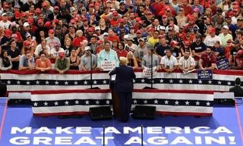 Tổng thống Trump khởi động tranh cử Tổng thống Mỹ năm 2020 với tiềm lực tài chính mạnh