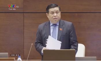 Bộ trưởng Nguyễn Chí Dũng trả lời nhiều câu hỏi liên quan đến BT và đầu tư công