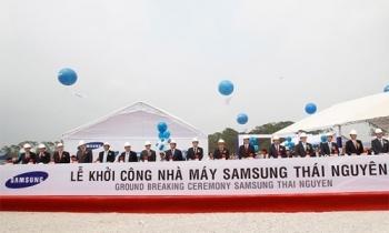 Samsung Thái Nguyên hoạt động từ 10/3