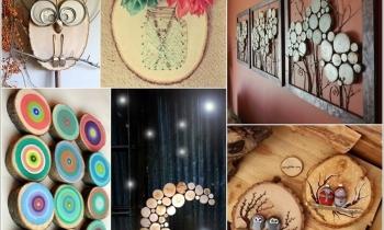 10 ý tưởng trang trí tuyệt vời lấy cảm hứng từ gỗ