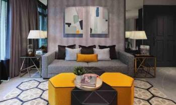 Căn hộ 3 phòng ngủ hiện đại như khách sạn sang trọng
