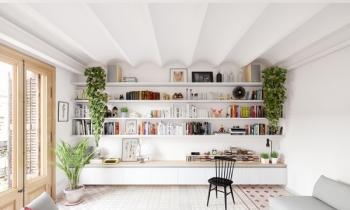 Căn hộ tươi sáng với thiết kế nội thất Bắc Âu