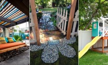 Ý tưởng sáng tạo trang trí không gian sân vườn