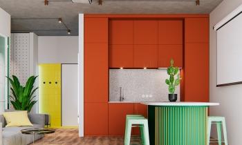 Trang trí nhà với bảng màu vui tươi đón Tết