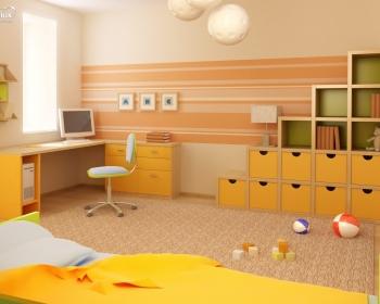 Chọn màu sắc phòng vừa đẹp vừa mang lại hiệu quả học tập cho trẻ