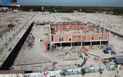 Cận cảnh tiến độ dự án Khu dân cư Đại Nam