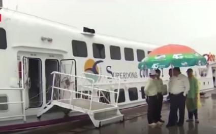 Khai trương tuyến tàu cao tốc Sóc Trăng - Côn Đảo