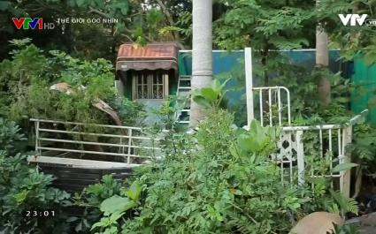 Ống dẫn nước, container - Giải pháp nhà ở giá rẻ tại Hong Kong, Trung Quốc