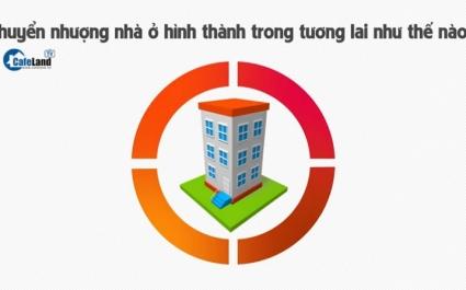 Chuyển nhượng nhà ở hình thành trong tương lai như thế nào?