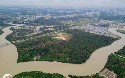Toàn cảnh khu đất 32ha Phước Kiển khiến Phó Bí thư Thường trực Thành ủy TP.HCM bị kỷ luật