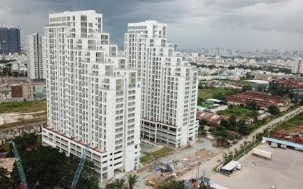 Toàn cảnh dự án Luxgarden xây dựng trên khu đất công