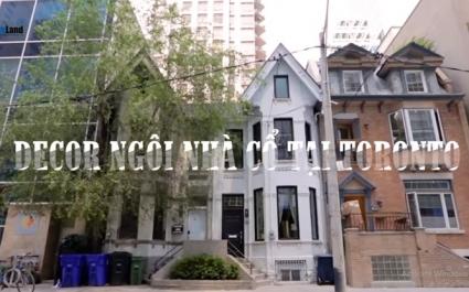Decor ngôi nhà cổ tại Toronto