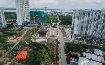 Đường Đào Trí oằn mình cõng hàng chục dự án chung cư