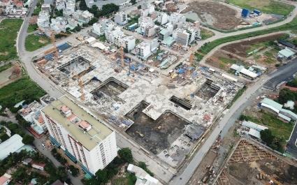 Bị xử phạt và buộc dừng thi công dự án Laimian City giờ ra sao?