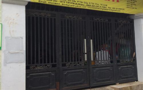 Bán nhà chính chủ hẻm 269 Gò Dầu-Tân Phú 1 gác lửng 2.45 tỷ ảnh thật