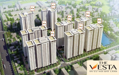 Đăng kí nhận thông tin Tòa V6 đẹp nhất dự án The Vesta-Phú Lãm. LH: 0975 888 394