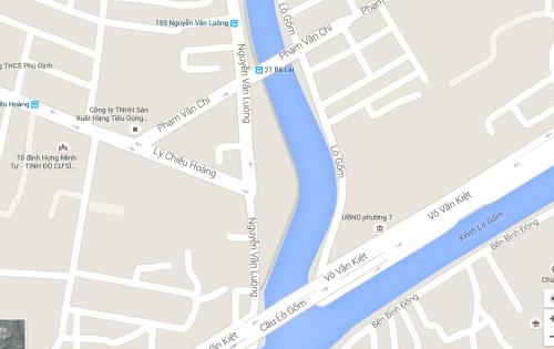 Bán kho ngay góc MT Lý Chiêu Hoàng, Nguyễn Văn Lượng,  Quận 6,  DT 1100 m2, Thổ cư 100%