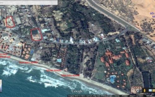 Khu đất hai mặt tiền gần Đồi Cát bay Mũi Né và các khu resort Pandanus, Malibu, Blue Shell