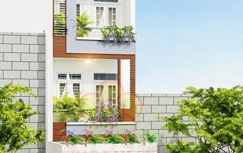 Bán nhà gần ngã tư Bình Triệu, 1T+3L,4PN-6Wc, garage ô tô.SHR bao sang tên