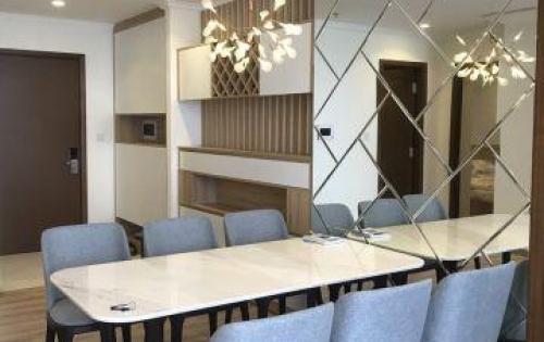 Bạn thân cần cho thuê gấp căn hộ Vinhomes 3PN full nội thất cao cấp để sang Mỹ