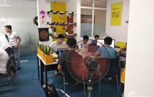 Cho thuê văn phòng 108m2 giá 12triệu/tháng,  đã ngăn sẵn các phòng làm việc khu vực Trần Thái Tông, Cầu Giấy. LH: 0972494425