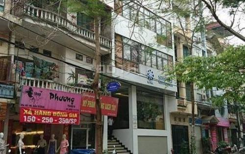 Cho thuê nhà mặt phố Trần Tử Bình, S=55m*2, 3T, MT 5.5m