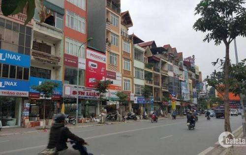 Cho thuê nhà mặt phố Nguyễn Lương Bằng 120m2x5t  mt 7m 91triệu/tháng.