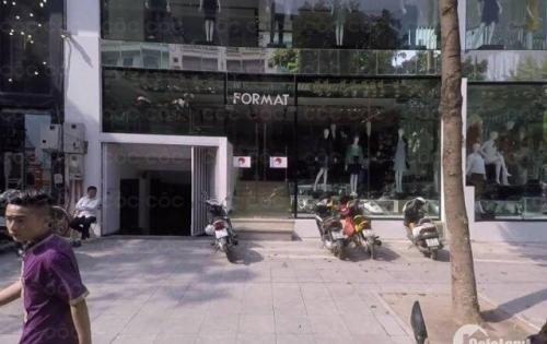 Cho thuê Nhà Mặt Phố Hòa Mã, Dt 123m2×4 tầng.