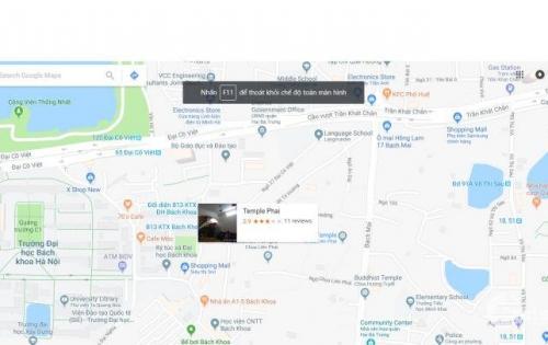 Cho thuê nhà mặt phố Bạch Mai, S 45m*2, 4T, MT 3m. LH 01629084485
