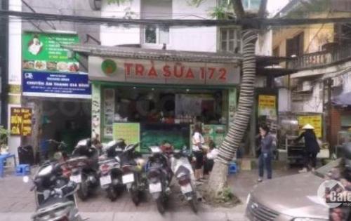 Cho thuê nhà mặt phố Triệu Việt Vương, DT 33m2, MT 4.5m giá thuê 25tr