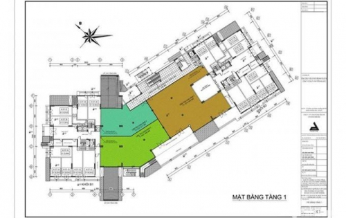 Cho thuê mặt bằng TTTM B1 – B2 khu đô thị tây nam linh đàm. LH : 0968.595.532