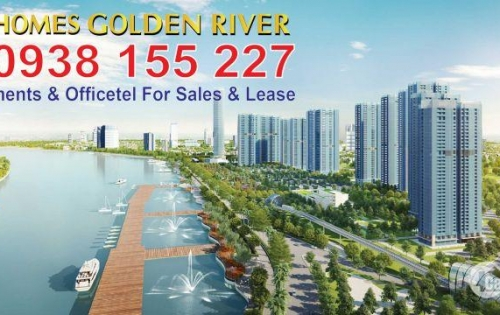 Cần cho thuê CH Vinhomes Golden River 1-2 PN, giá tốt nhất thị trường, LH PKD CĐT 0938.155.227