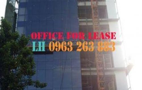 Cho thuê văn phòng tòa nhà mới mặt đường Yersin, Quận 1, DT 290m2 cắt được. Free 1 tháng fitout