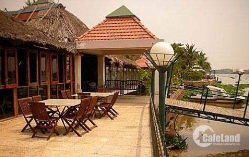 Cho thuê biệt thự làng Việt Kiều An Phú Đông gần Quốc lộ 1A và cầu Bình Phước, Q12. TP.HCM.