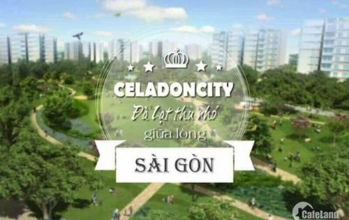 Cho thuê căn hộ celadon city , 2pn-2wc-65m2,tủ bếp rèm màn bao PQL,giá 10tr/tháng