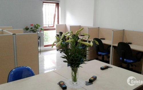 Văn phòng cho thuê chỗ ngồi làm việc chung