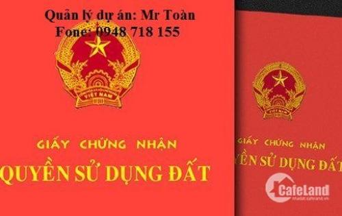 Cần tiền bán gấp lô đất 100m2  sổ đỏ mặt đường ngô gia tự. Liên hệ Mr Toàn 0948 718 155