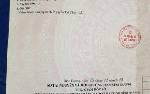 Cần bán nền đất chính chủ, cách UBND Phú An khoảng 500m