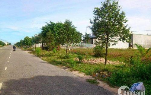 Tôi cần bán đất đối diện chợ, sát KCN,150m2/750tr, SHR, đường trước nhà 16m.